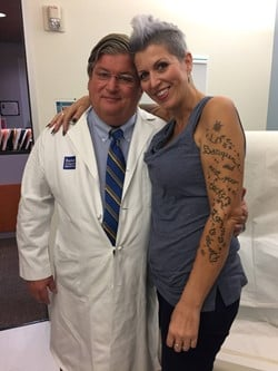 Heather and Dr. Sugarbaker