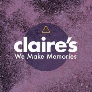 Asbestos in Claire's makeup