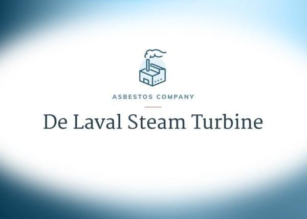 De Laval Steam Turbine