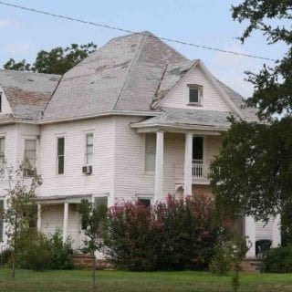 Old Home With Asbestos