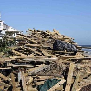Asbestos exposure on beaches