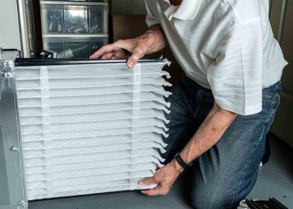 HVAC worker