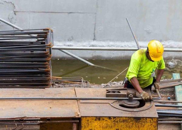 Industrial Worker at Work