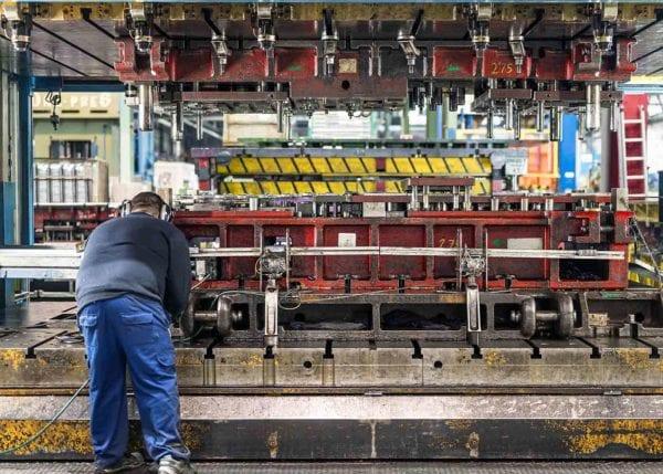 Machine Operators at Work