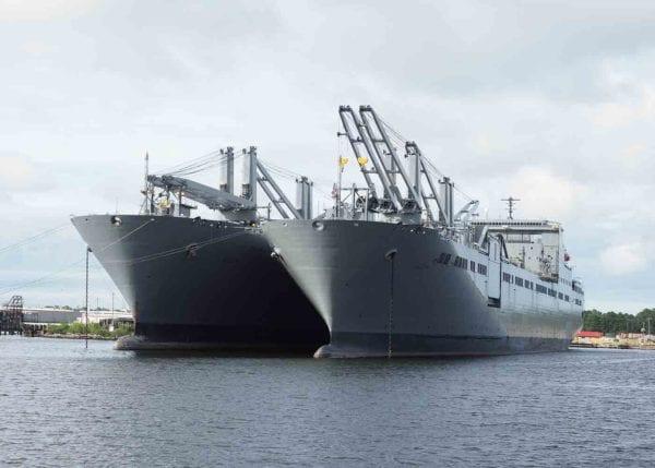 Merchant Marine Ship