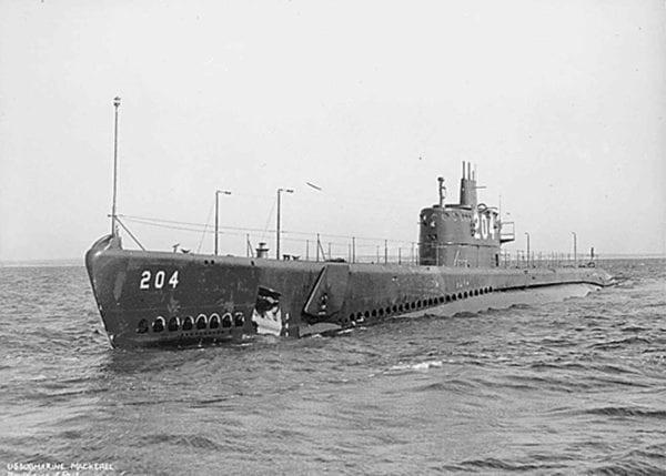 Submarine in Water