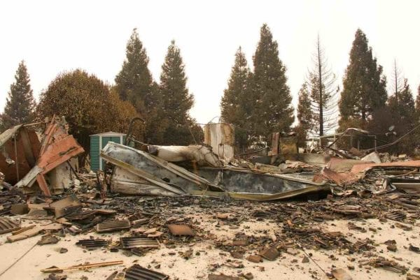 Asbestos a Growing Concern With Western U.S. Wildfires