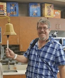 Peritoneal mesothelioma survivor Jim Dykstra.