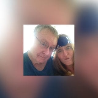 Amy Byrd and her father, a mesothelioma warrior