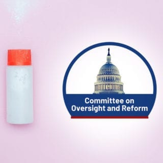 Congressional hearing on asbestos in talc