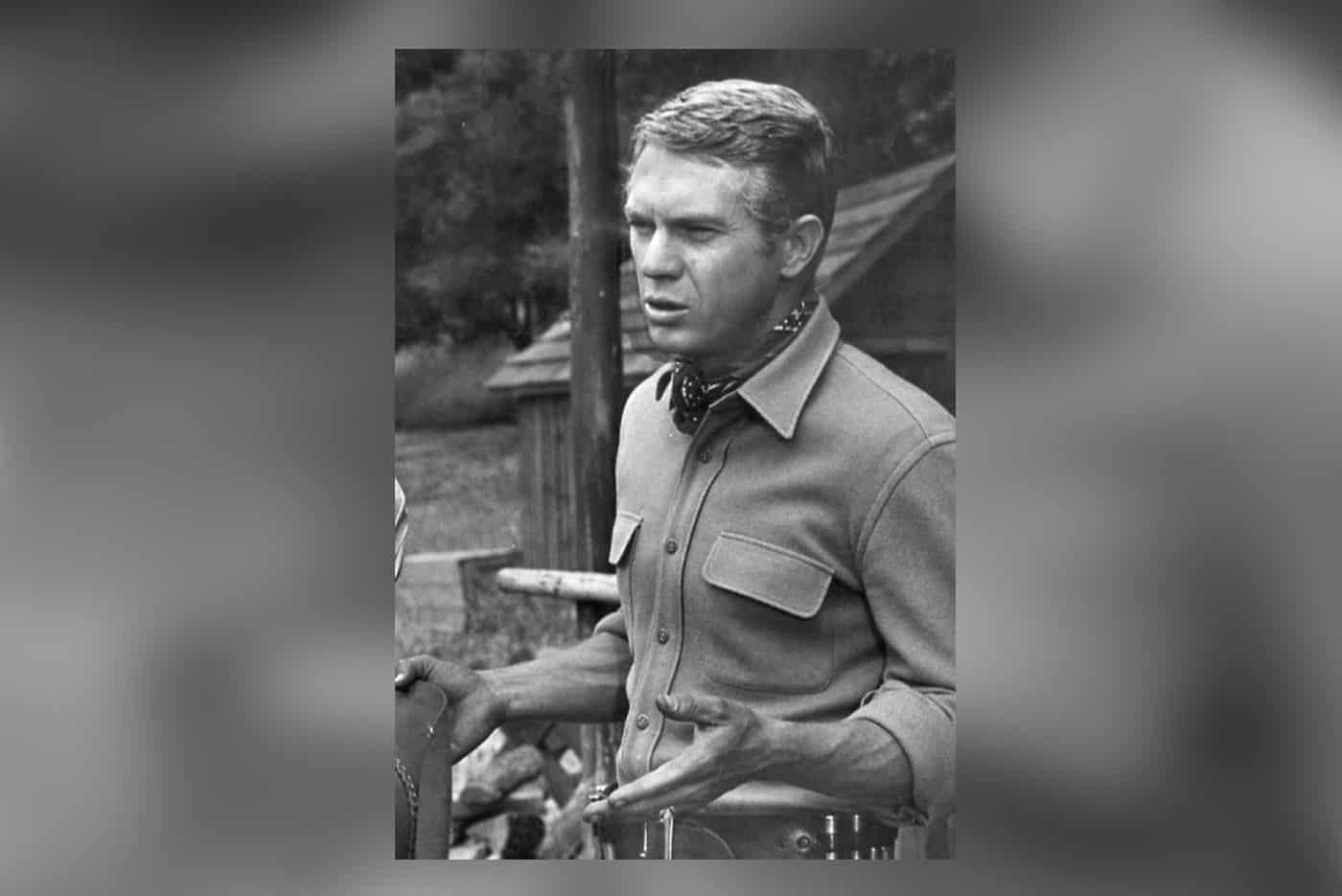 Actor and veteran Steve McQueen