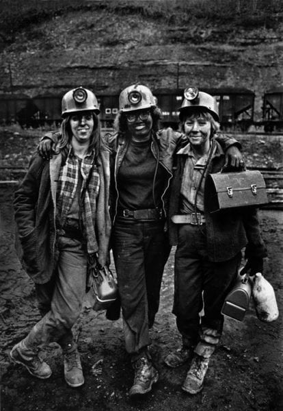Women Coal Miners, Vasant, Virginia